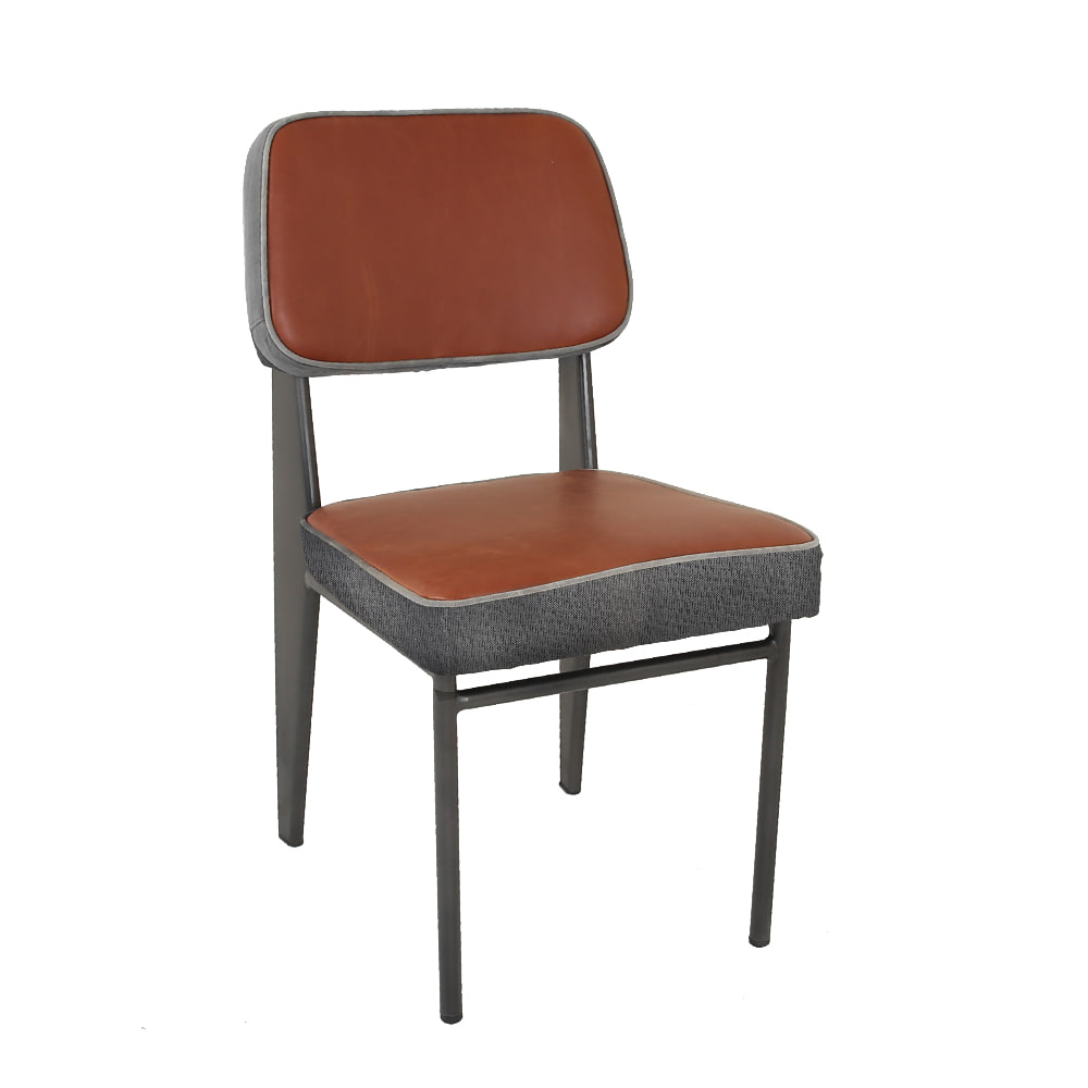 STEEL DINNING CHAIR WITH CUSHION (AJ-527)