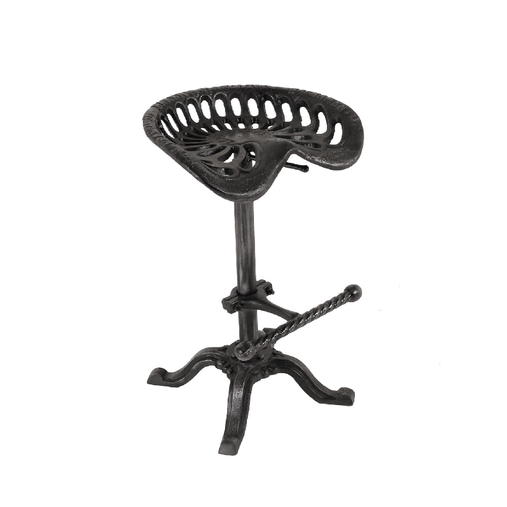 CAST IRON BAR STOOL (HEWK-010)