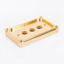 THREE POINT SWITCH PLATE BRASS (MK-SWIPB3)