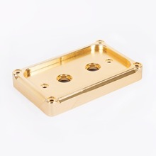 TWO POINT SWITCH PLATE BRASS (MK-SWIPB2)