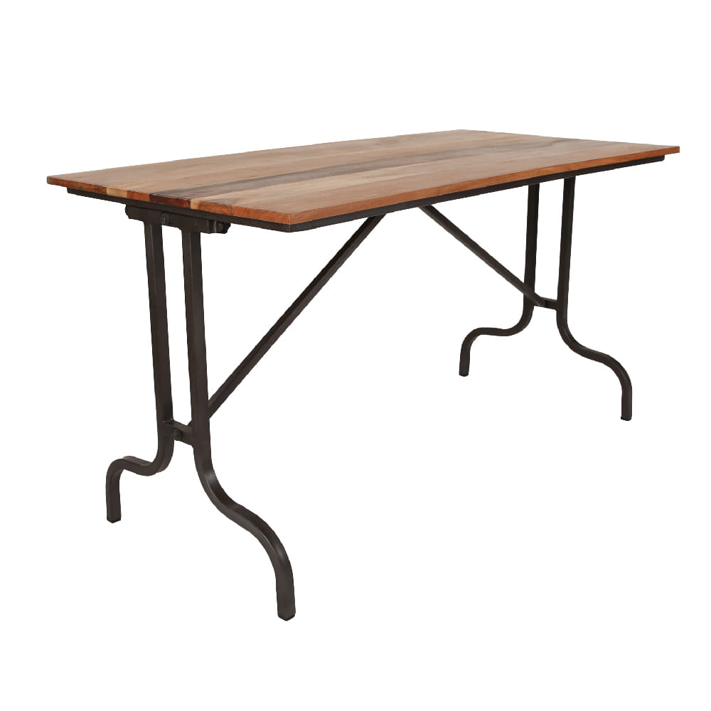 Table Iron Wood K.D. (K-1533)